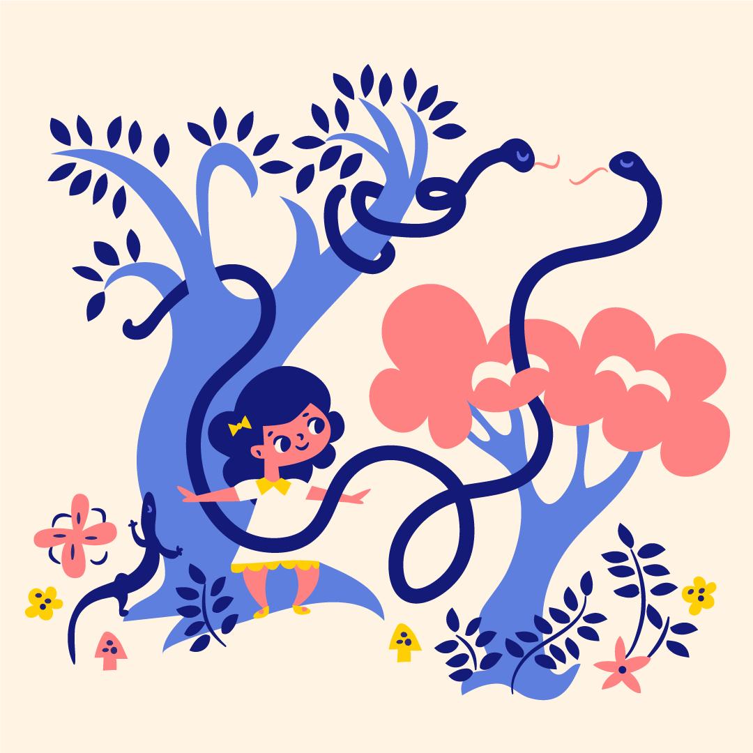 violet-snakes